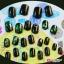 เล็บปลอม S-113 Japanese green glass Premium thumbnail 2