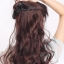 hair piece ติดผมทนความร้อนเกาหลี (สีน้ำตาลอ่อน) thumbnail 12