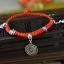 สร้อยข้อเท้า Hand-woven red string band Natal thumbnail 2