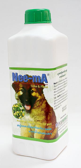 สบู่เหลวทำความสะอาดสัตว์เลี้ยง Nee-mA ขนาด 1 ลิตร