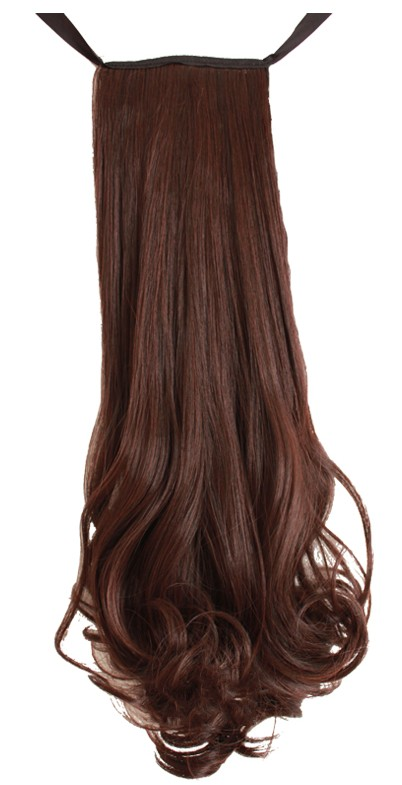 hair piece ทนความร้อนเกาหลี(สีดำ)