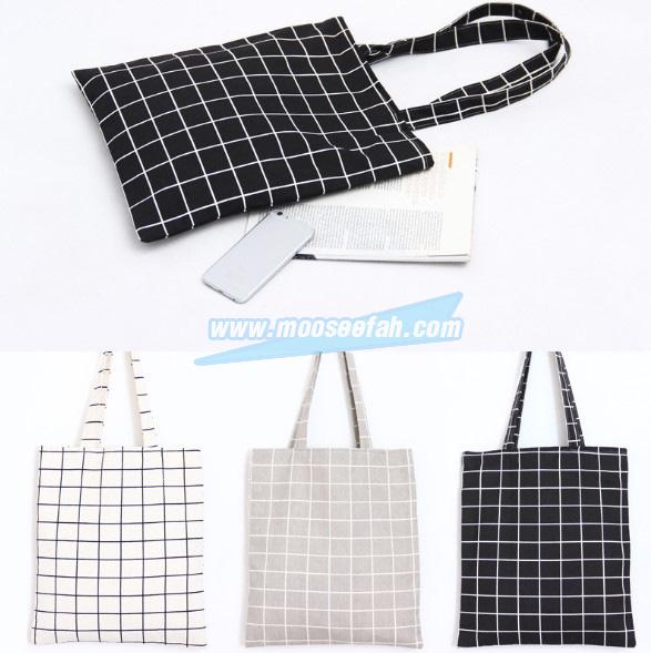 กระเป๋าผ้าเกาหลี B5