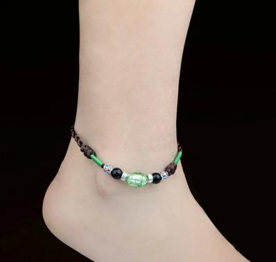 สร้อยข้อเท้า simply decorated glas