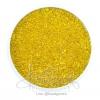 ลูกปัดเม็ดทราย 12/0 โทนรุ้ง สีเหลือง (100 กรัม)
