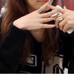 แหวนเงิน 3 SET แฟชั่นเกาหลี