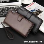 กระเป๋าสตางค์ผู้ชายใบยาว MZ-022 [มีซิป]