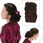 hair piece ทนความร้อนนำเข้าจากญี่ปุ่น(สีดำ))