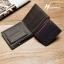 กระเป๋าสตางค์ผู้ชาย BA-013 [สีดำ มีซิป] thumbnail 6