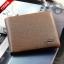 กระเป๋าสตางค์ผู้ชาย PD-006 [สีเทา ด้านในสีชา] thumbnail 1