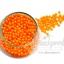 ลูกปัดมุกพลาสติก 4มิล สีส้ม (450 กรัม) thumbnail 1