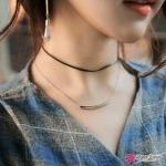 สร้อยคอ Black summer necklace jewelry