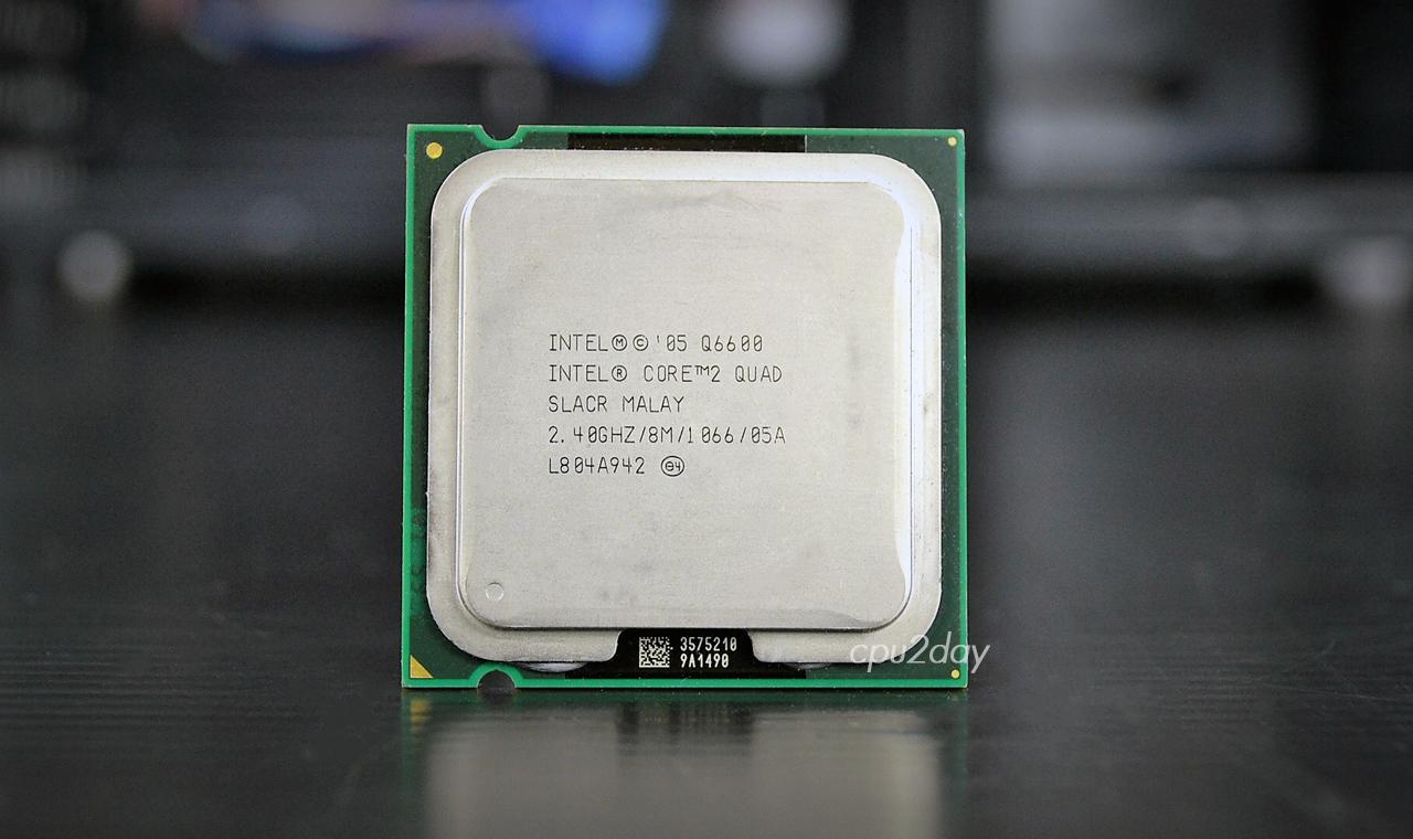 Core 2 Quad Q6600 Processor 775 8m Cache 240 Ghz 1066 Mhz Fsb